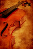 violon grunge Photos stock