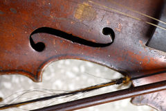 Violon utilisé photos stock