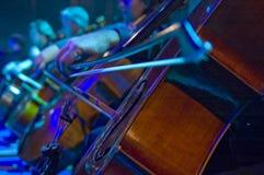 violoncell Arkivfoto