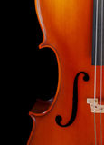 violoncellcloseup Arkivbild