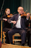 violoncellist Fotografia Stock