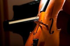 Violoncello Fotografia Royalty Free