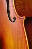 Violoncello close-up Royalty Free Stock Photos