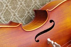Violoncello close-up Royalty Free Stock Photography
