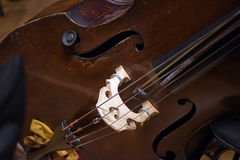 Violoncello. Close up: classical music royalty free stock photos