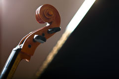 Violoncello detail Stock Photo