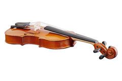 Violoncello. Isolated under the white background stock image