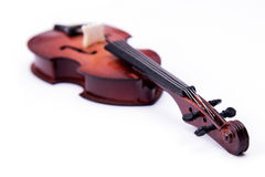 Violoncello isolated on white Royalty Free Stock Images