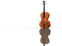 Violoncello isolated with wihte. Violoncello isolated under the white background Stock Photography