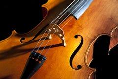 Violoncello o violoncello Fotografie Stock Libere da Diritti