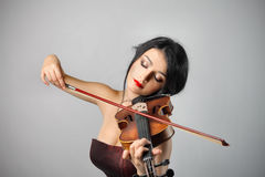 Violoniste Photos stock