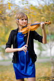 Violoniste Image stock