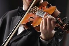 violoniste image stock