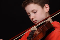 Violoniste Images stock