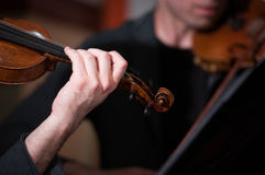 Violonists Royalty Free Stock Image