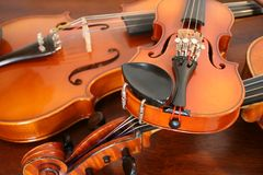 Violons Image stock