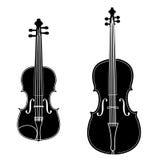 Viool en cello vector illustratie