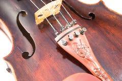 Viool of fiddle van de voorkant Royalty-vrije Stock Afbeelding