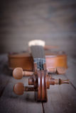 Viool in uitstekende stijl Royalty-vrije Stock Afbeelding