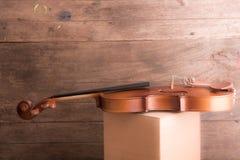 Viool in uitstekende stijl Stock Afbeelding