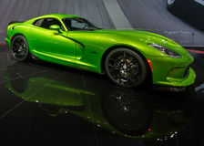Vipère de 2014 SRT (Dodge) images libres de droits