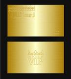 Vip卡片 免版税库存照片