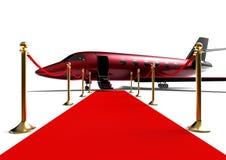VIP喷气机 皇族释放例证