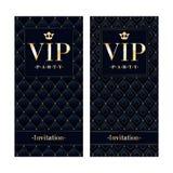VIP邀请卡片优质设计模板 免版税库存照片