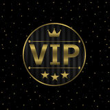VIP εικονίδιο Στοκ εικόνες με δικαίωμα ελεύθερης χρήσης