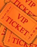 VIP εισιτήριο Στοκ Εικόνες