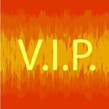 VIP σημαδιών πυρκαγιάς Στοκ Εικόνα