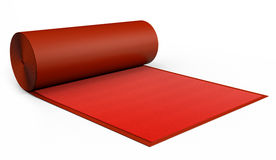 VIP Red Carpet Design Stock Image