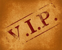 Vip Royalty Free Stock Images