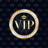 VIP abstract golden metallic background. Royalty Free Stock Photos