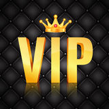 VIP abstract quilted background Stock Image