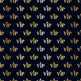 VIP abstract seamless background. Stock Images