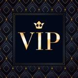VIP abstracte gewatteerde achtergrond Stock Afbeelding