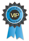 Vip badge. Isolated on white background Royalty Free Stock Photo