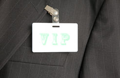 VIP badge Stock Images