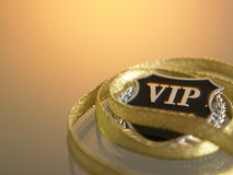 Vip badge Stock Photo