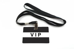 VIP badge isolated on white background Stock Images