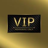 VIP business card Stock Photos