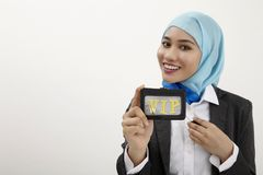 Vip business woman Royalty Free Stock Image