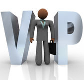 VIP - Businesswoman in Word Royalty Free Stock Photography