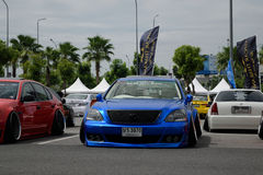 VIP car in VIP style mag. meeting no.1 Royalty Free Stock Photo