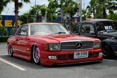 VIP car in VIP style mag. meeting no.1 Royalty Free Stock Photos