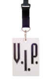 Vip card. Isolated over white background Royalty Free Stock Photo
