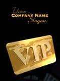 VIP card Royalty Free Stock Photo