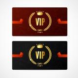 VIP Card Set. Vector Royalty Free Stock Image