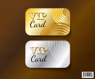 VIP card symbol design-vector file Royalty Free Stock Photography